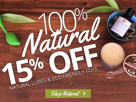 Browse natural sex toys at a discount.