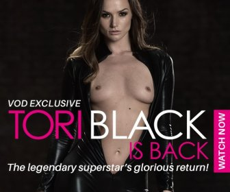 Tori Black Is Back exclusive VOD