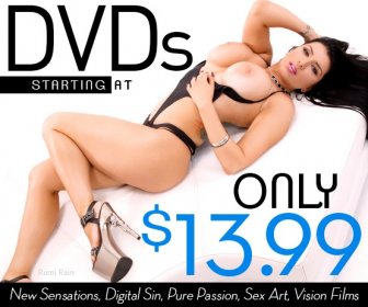 New Sensations DVD Sale.