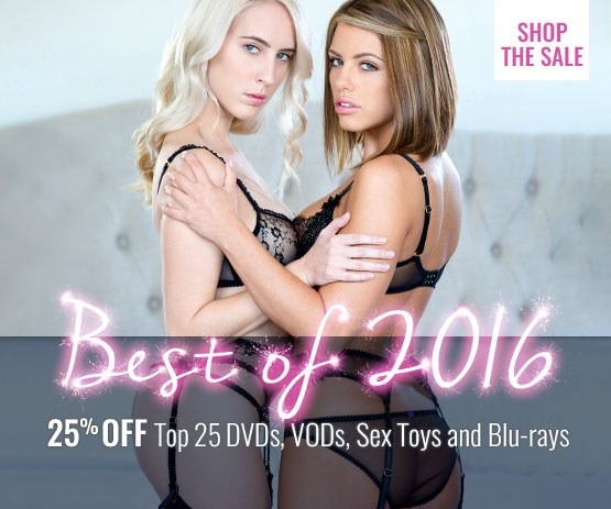 Save 25% on Top 25 DVDs, VODs, sex toys and Blu-rays.