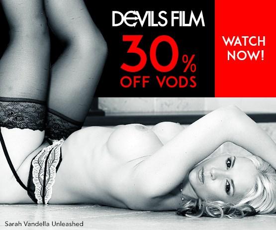 Buy Devil's Film streaming porn videos on sale starring Sarah Vandella and more