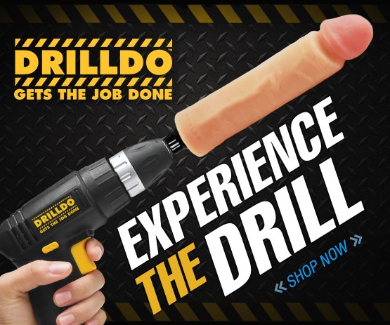 Buy the Drilldo sex toy.