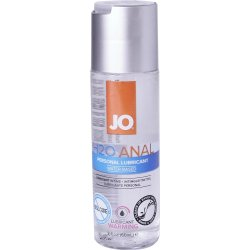 JO H2O Anal Warming Lube - 2.oz. Sex Toy