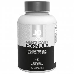 JO Men's Daily Formula Dietary Supplement - 30 Capsules Sex Toy