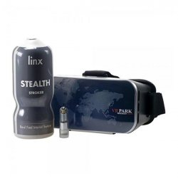 Linx Cyber Pro Stealth Stroker and VR Glasses sex toy.