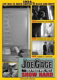 Joe Gage Sex Files 21: Show Hard Porn Movie