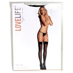 Lovelife: Sheer Thigh Highs - OS Sex Toy