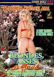 Blondes, Asses & Anal Porn Video