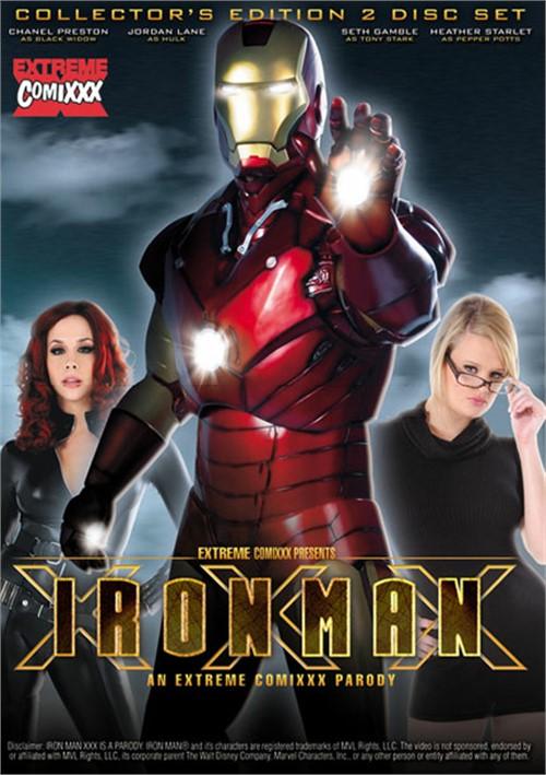 Iron Man XXX: An Extreme Comixxx Parody