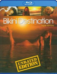 Bikini Destination: Triple Fantasy) Blu-ray porn movie from Magnolia Home Entertainment.
