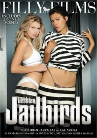 Lesbian Jailbirds POV porn video from Filly Films.