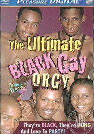 Ultimate Black Gay Orgy, The Porn Video