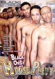 Black Orgy House Party Porn Video