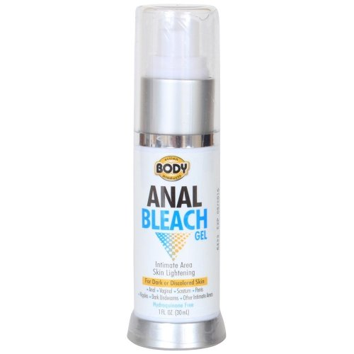 Anal bleaching gel