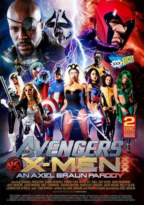 Chanel Preston, Penny Pax, Skin Diamond, Dana Vespoli, Katie St. Ives, Zoe Voss, Jazy Berlin - Avengers VS X-Men XXX Parody - Vivid