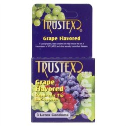 Trustex  Flavored - 3 Pack - GSex Toy