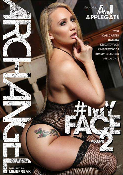 AJ Applegate stars in #MyFace Vol. 2 DVD porn movie.