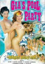 Gia's Pool Party Porn Video