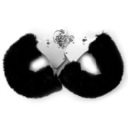 Fetish Fantasy Furry Cuffs - Black Sex Toy