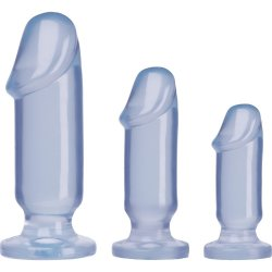 Crystal Jellies: Anal Starter Kit - Clear Sex Toy