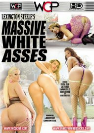 Lexington Steele's Massive White Asses DVD Image from West Coast Productions.