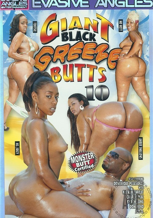 Giant Black Greeze Butts 10- On Sale! Nathan Threat Evasive Angles Dominique Pleasures