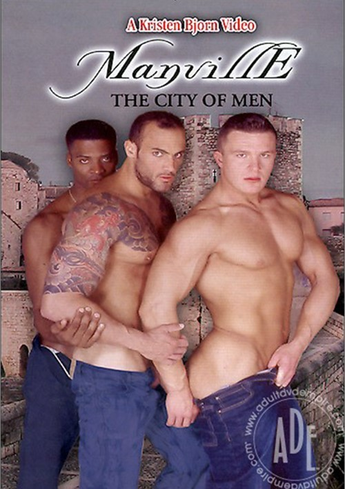 Manville The City of Men Cover Front