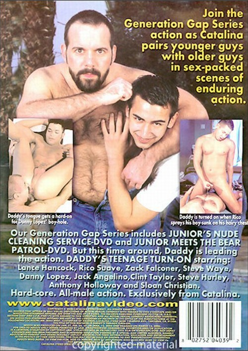 Daddys Teenage Turn-On Cover Front