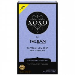 Trojan XOXO Softouch Low-odor Thin Condoms - 10-Pack Sex Toy