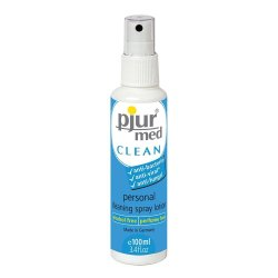 Pjur Med Clean Intimacy Cleaning Spray Lotion  - 3.4 Ounce Sex Toy