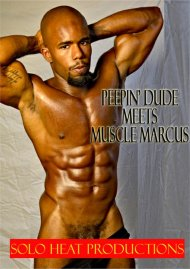 Peepin' Dude Meets Muscle Marcus Porn Video