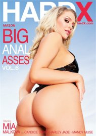 Big Anal Asses Vol. 6 DVD porn movie from HardX.