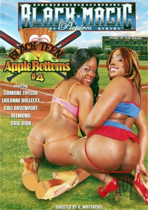 Black Teen Apple Bottoms #4