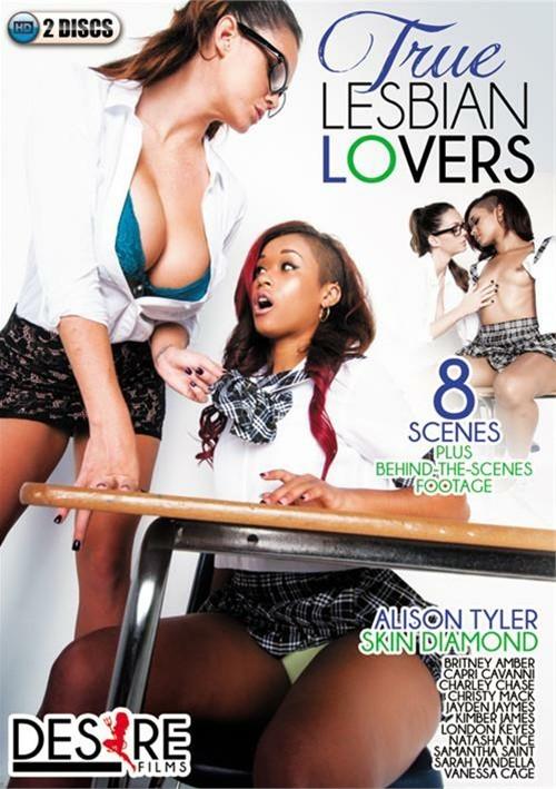 True Lesbian Lovers DVD Porn Movie Image