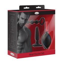 Malesation 3 pc Anal Starter Kit Sex Toy