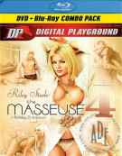 Masseuse 4, The (DVD + Blu-ray Combo) Blu-ray