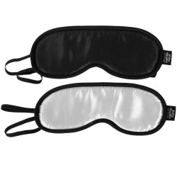 Fifty Shades of Grey Official Collection: No Peeking Blindfold 2 Pack Sex Toy