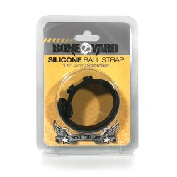 "Boneyard Silicone Ball Strap - 1.5"" (4 cm)  Sex Toy"
