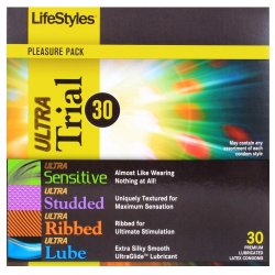 LifeStyles Ultra Trial 30 Pack Sex Toy