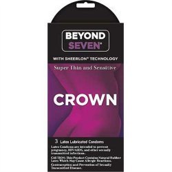 Beyond Seven: Crown Super Thin and Sensitive - 3 pk Sex Toy