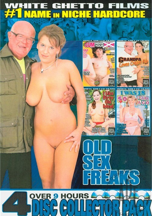 Old Sex Freaks 4-Disc Collector Pack