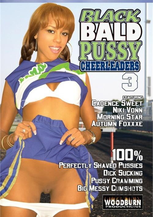 Black Bald Pussy Cheerleaders 3