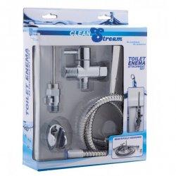 Clean Stream Toilet Enema Attachment Set Sex Toy