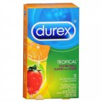 Durex Tropical Color & Scents Condoms - Box of 12 Sex Toy