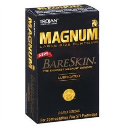 Trojan Magnum Bareskin -10 Pack Sex Toy