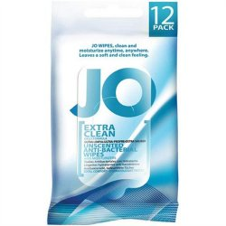 System JO Intimate Wipes - Simply Clean - Pack of 12 Sex Toy