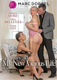 40 Years Old, My New Vicious Life DVD porn movie from Marc Dorcel.