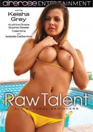 Raw Talent DVD porn movie.