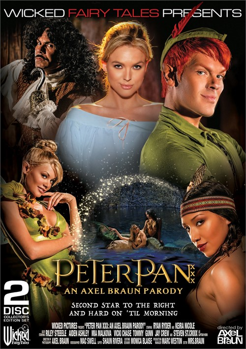 Peter Pan XXX: An Axel Braun Parody from Wicked Pictures.