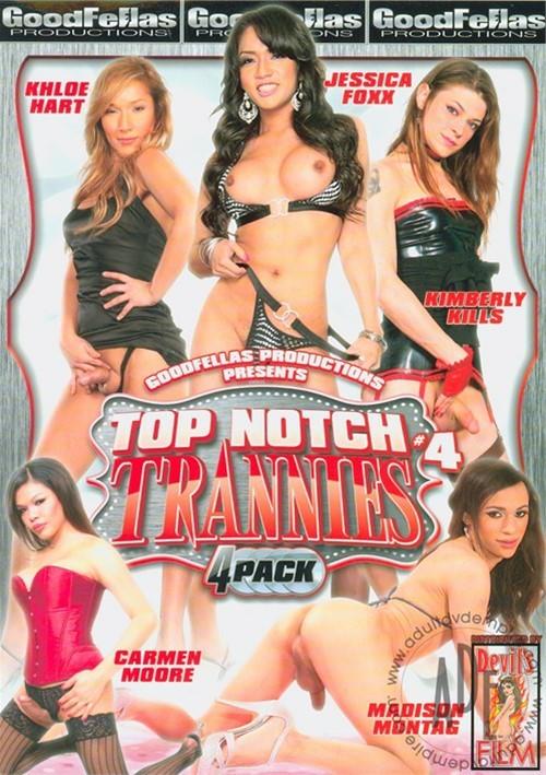 Top Notch Trannies 4-Pack #4 Reesa Noi 2011 Madison Montag